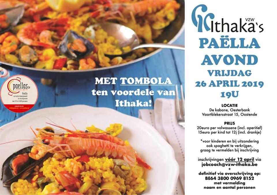 uitnodiging paella avond